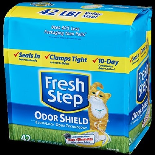 Image of FRESH STEP CAT LITTER 261345 Fresh Step Odor Shield Scoop for Pets, 42-Pound