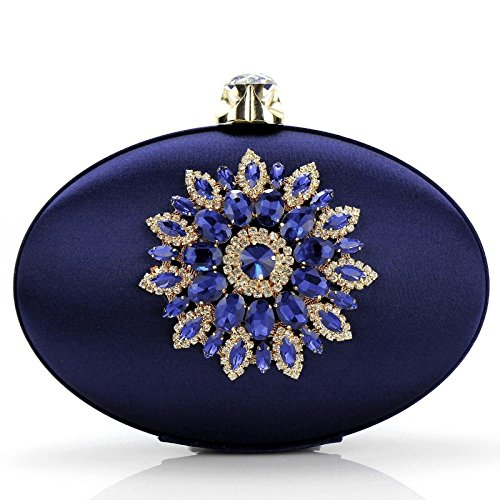 Fashion United States Bag The WenL Blue Hand Europe And Oval 1qtZ1OX