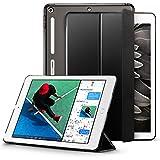New iPad 9 7 2017 Case ESR Case with Soft TPU Bumper Edge Corner Protection Smart Case Cover Auto Wake Sleep Function for Apple iPad 9 7 inch Black