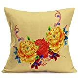 Best Case Pillowcases For Sofas - Ikevan Hot Selling Pillowcase Chinoiserie Peony Sofa Bed Review
