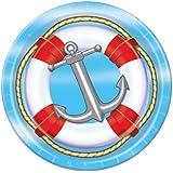 Nautical Plates   (8/Pkg)