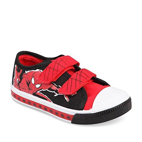 Spiderman - Zapatillas de deporte de Material Sintético para niño
