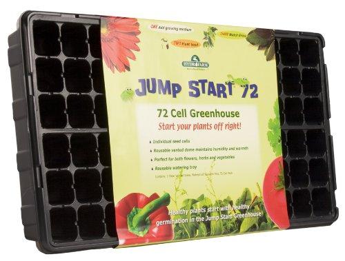 Hydrofarm Jump Start JS72CG 72 Cell Greenhouse Jumpstart