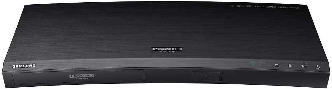 Samsung Black Streaming 4K Ultra HD Audio Wi-Fi Built-In Blu-ray Player