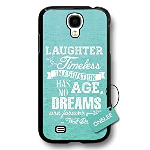 Dreams Walt Disney Quote For Case HTC One M8 Cover - Custom Personalized Hard Plastic For Case HTC One M8 Cover - Black 2