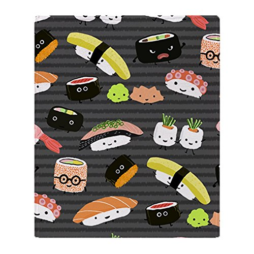 "CafePress Sushinook Soft Fleece Throw Blanket, 50""x60"" Stadi"