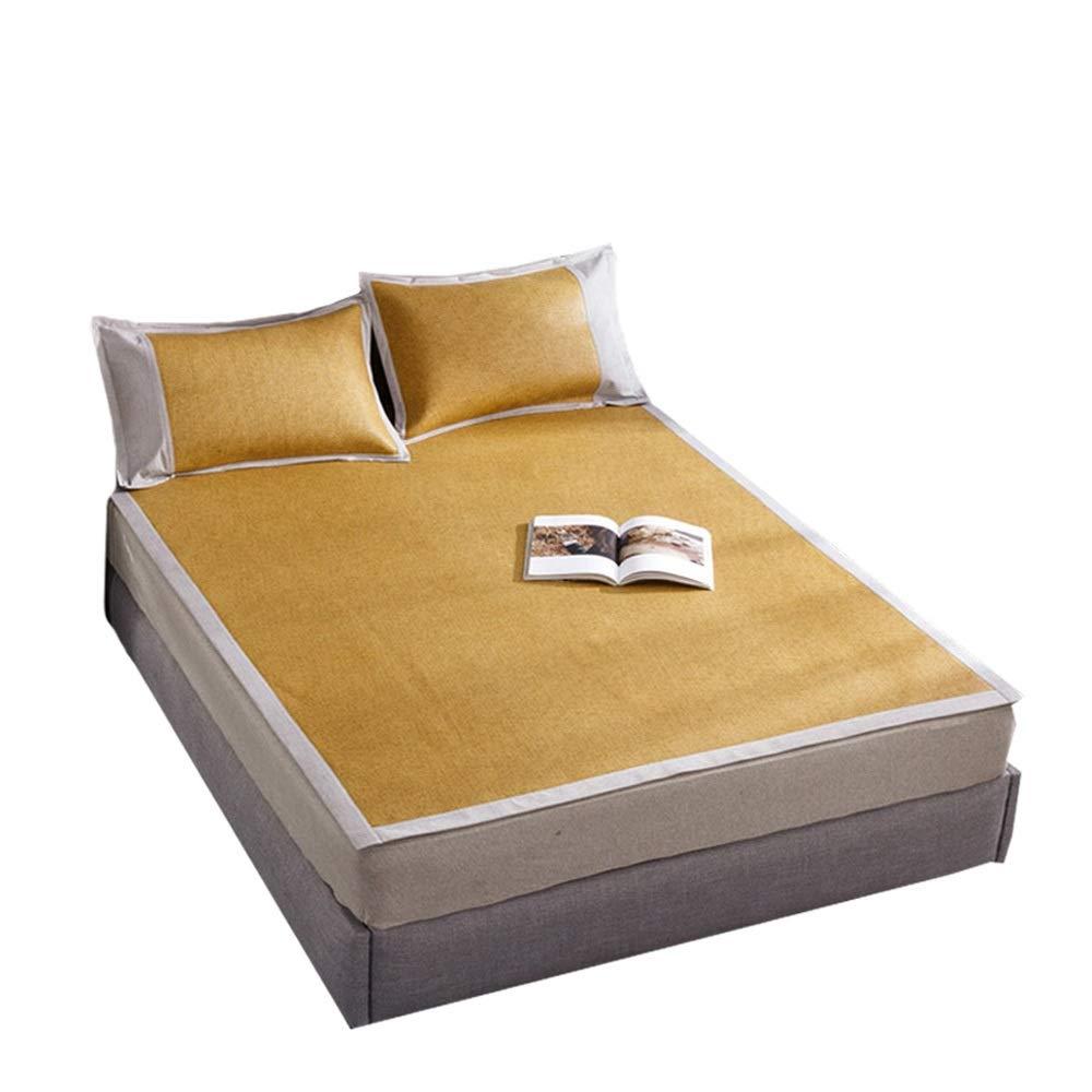籐マット - 夏クールスリーピングマット - 寝具 - ソフトで快適 - クーリングマット (Size : 1.0x190cm/39.4x74.8in) B07T155QPB  1.0x190cm/39.4x74.8in