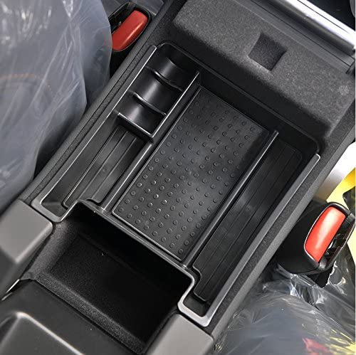 Black AndyGo 2015 Latest Car Glove Box Armrest Storage box Organizer Center Console Tray Fit For Volvo XC60 S60 S60L V60 2009 2010 2011 2012 2013 2014 2015