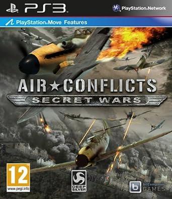 Kết quả hình ảnh cho Air Conflicts: Secret Wars cover ps3