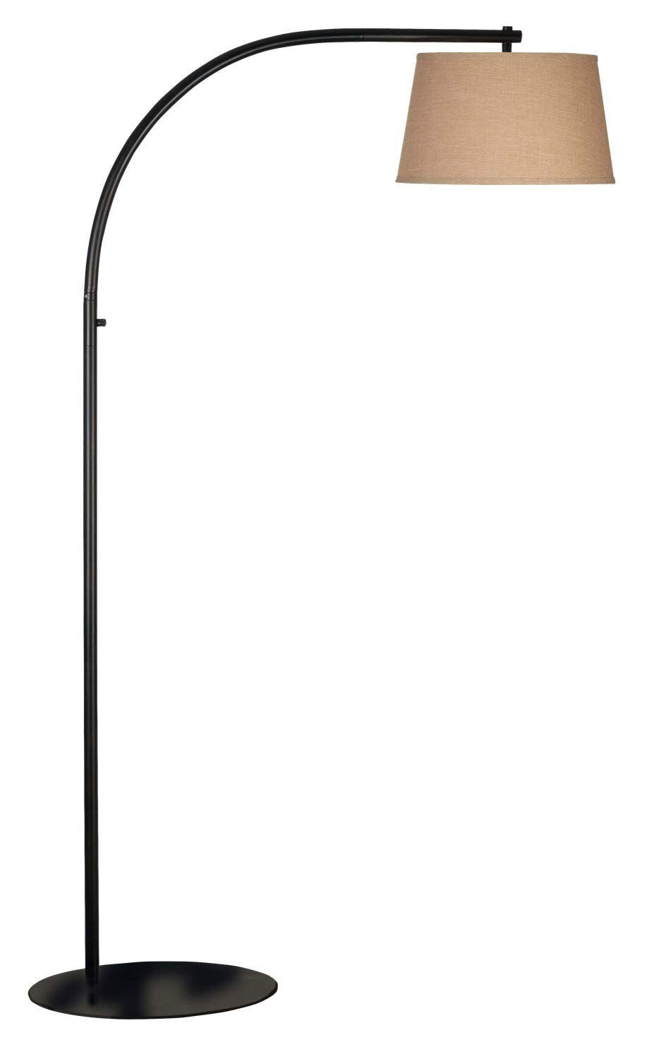 Kenroy Home 20953ORB Sweep Arc Floor Lamp 69 Inch Height, 41.5 Inch width,17 inch extension Oil Rubbed Bronze