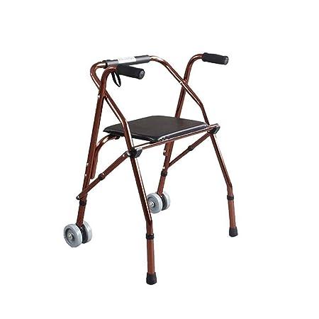 Andador para Ancianos Walker, Floding Walker, ajustable con ...