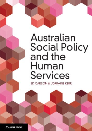 Download Australian Social Policy and the Human Services Pdf
