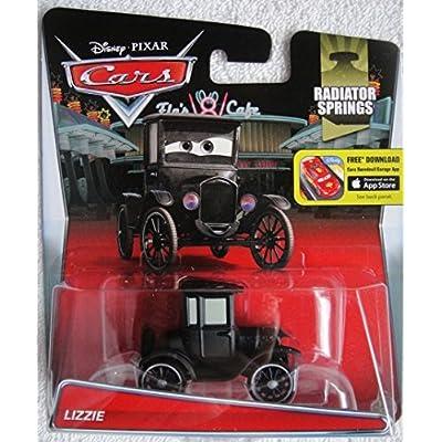 DISNEY PIXAR CARS RADIATOR SPRINGS LIZZIE 19/19: Toys & Games