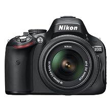 Nikon D5100 16.2MP CMOS Digital SLR Camera with 18-55mm Zoom Lens (Canada model)