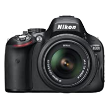 Nikon D5100 DSLR Camera with 18-55mm f/3.5-5.6 Auto Focus-S Nikkor Zoom Lens (OLD MODEL)