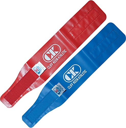 Cliff Keen Red and Blue Wrestling Ankle Bands by Cliff Keen