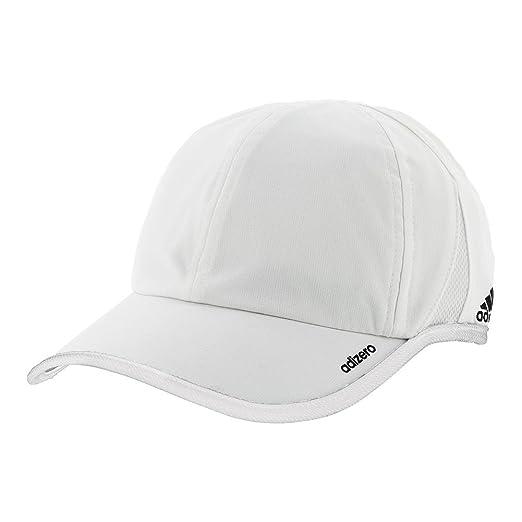 83c816a5a03 Amazon.com  adidas Men s Adizero II Team Cap White Black One Size ...