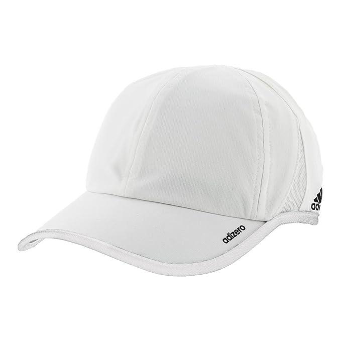63668dae50c Amazon.com  adidas Men s Adizero II Team Cap White Black One Size  Sports    Outdoors