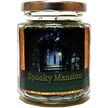 Spooky Mansion, Super Scented Natural Wax Candle (8 oz)