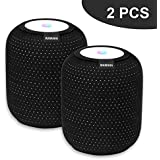 WAWAHA 2pcsHomepod Cover,Elastic Anti-Scratch Dust Proof Protective Cover for Speaker HomePod Accessories (Dacron Spot)