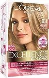 Coloración Excellence Crème Triple Protección 9,1 Rubio Ceniza Claro de L'Oréal Paris
