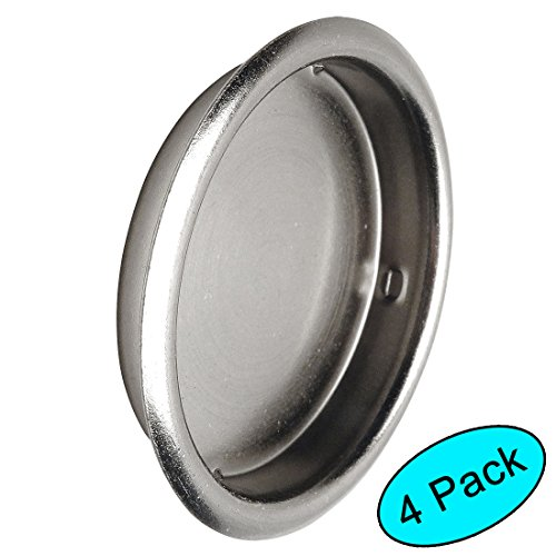 Nickel Finger Pull - Designers Impressions Satin Nickel 2-1/8