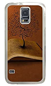 The Giddyup Tree And The Bickham Script Tree Clear Hard Case Cover Skin For Samsung Galaxy S5 I9600 by supermalls