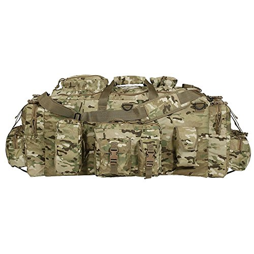 Voodoo Tactical Men's Mojo Load-Out Bag with Backpack Straps, Multicam by VooDoo Tactical