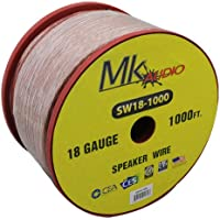 Mk Audio SW18-1000 18 Gauge 1000FT Spool Speaker Wire