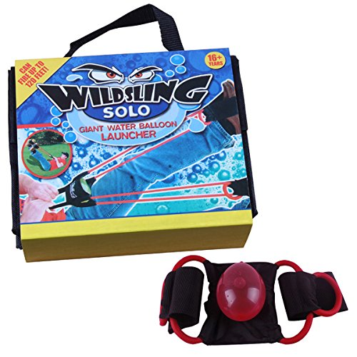 (Sugoiti Water Balloon Launcher 100 Yard SlingshotFor Kids Adult 1 or 3 Person Not Including Water Balloons)