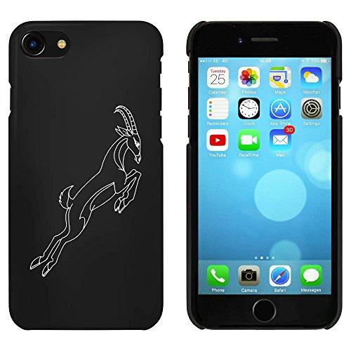 Noir 'Gazelle Sautante' étui / housse pour iPhone 7 (MC00080991)