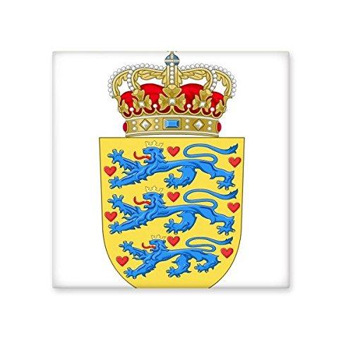 Denmark National Emblem Country Symbol Mark Pattern Ceramic Bisque Tiles for Decorating Bathroom Decor Kitchen Ceramic Tiles Wall Tiles 50%OFF