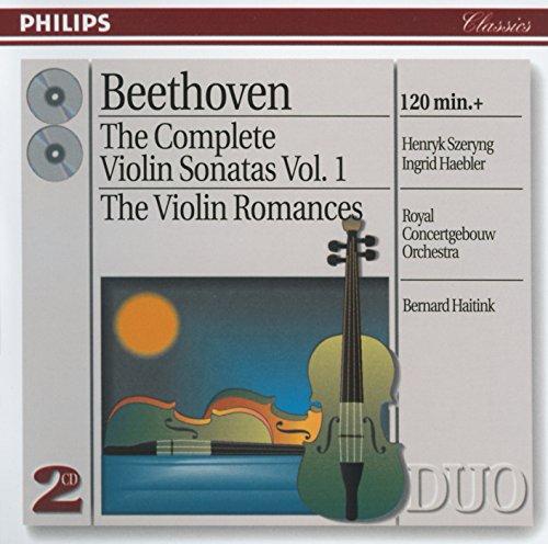 Beethoven: The Complete Violin Sonatas, Vol. 1;  The Violin Romances (Best Of Beethoven Violin)