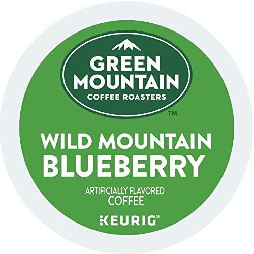 Green Mountain Coffee, Wild Mountain Blueberry K-Cup Portion Pack for Keurig Brewers, 24 count (Packaging May Vary)