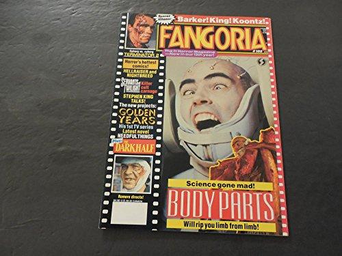 Fangoria #105 Aug 1991 Terminator 2; Stephen King; Hellraiser; Koontz