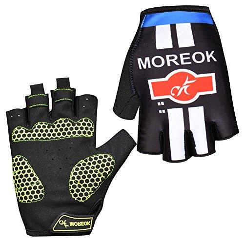 JINZFJG-SX Cycling Gloves Anti-Slip Anti-Sweat Men Women Half Fingers Gloves Breathable Anti-Shock Sports Gloves MTB Bike Bicycle Gloves