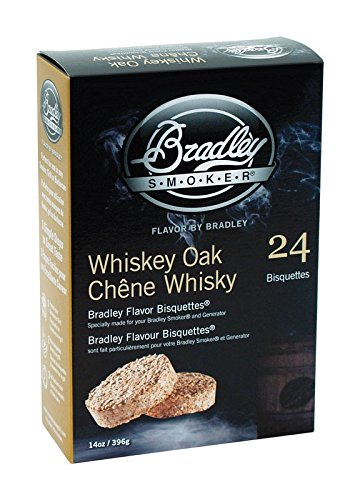 Bradley Smoker BTWOSE24 Bisquettes, Whiskey Oak Special Edition, 24 ()