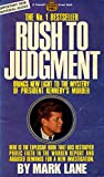img - for Rush to Judgment book / textbook / text book