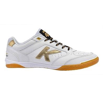 Kelme Chaussures de Foot pour Garçon - Blanc - Blanc, 42 EU EU