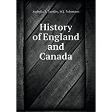 History of England and Canada