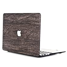 """MacBook Pro 15 Case 2016,L2W MacBook Pro 15"""" Hard Shell Plastic Cover Protective Case for 15-inch MacBook Pro Retina with Multi-Touch Bar Display Model A1707 (USB-C) (2016 Oct. Release) [Retro Wood Grain-6]"""