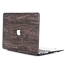 "MacBook Pro 15 Retina Case Hard Shell L2W MacBook Pro 15"" Retina Wood Texture Pattern For Apple MacBook Pro with Retina Display, 15 inch(Model: A1398)[Retro Wood Grain-6]"