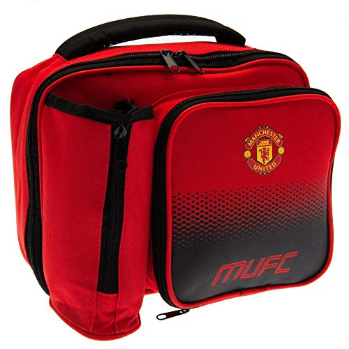 Manchester United F.C. Fade Lunch Bag (One Size) (Red) (Box United Manchester Lunch)
