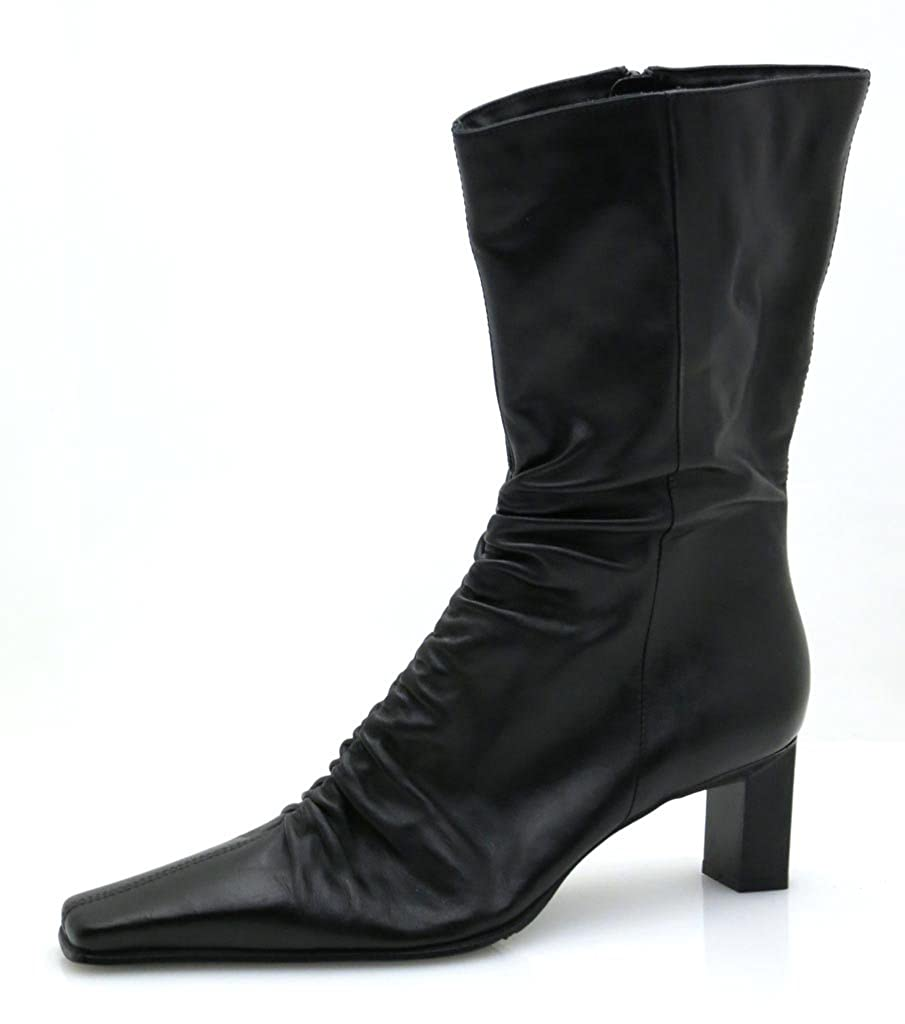 Never Cross Lederstiefel Stiefel Damenschuh Schuhe