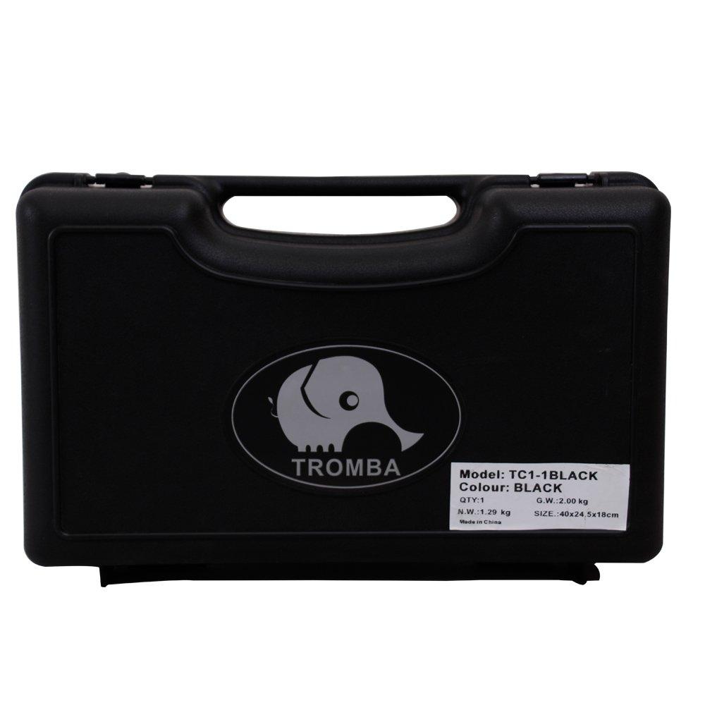 Tromba Pro Professional Plastic Bb Cornet, Black by Tromba