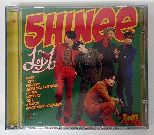 Shinee - 1 of 1 Vol.5 CD with Folded Poster Extra Gift Photocards Set