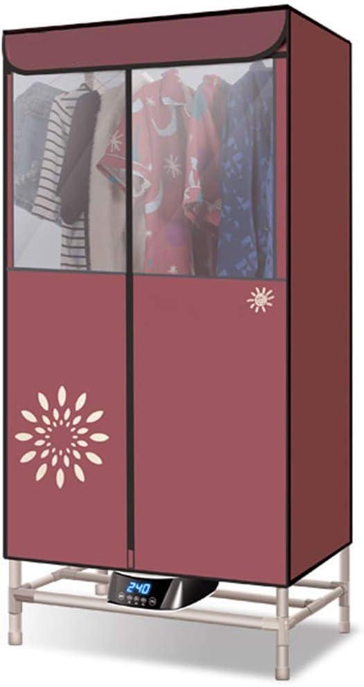 Clothes Dryer Multifuncional portátil de Tela Secadora Gabinete de Hogares Doble para el hogar Secador de Vestir a Armario 0-180 Minutos temporización 1300W: Amazon.es: Hogar