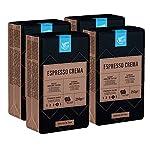 Marchio-Amazon-Happy-Belly-Caff-tostato-macinato-Espresso-Crema-4-x-250g