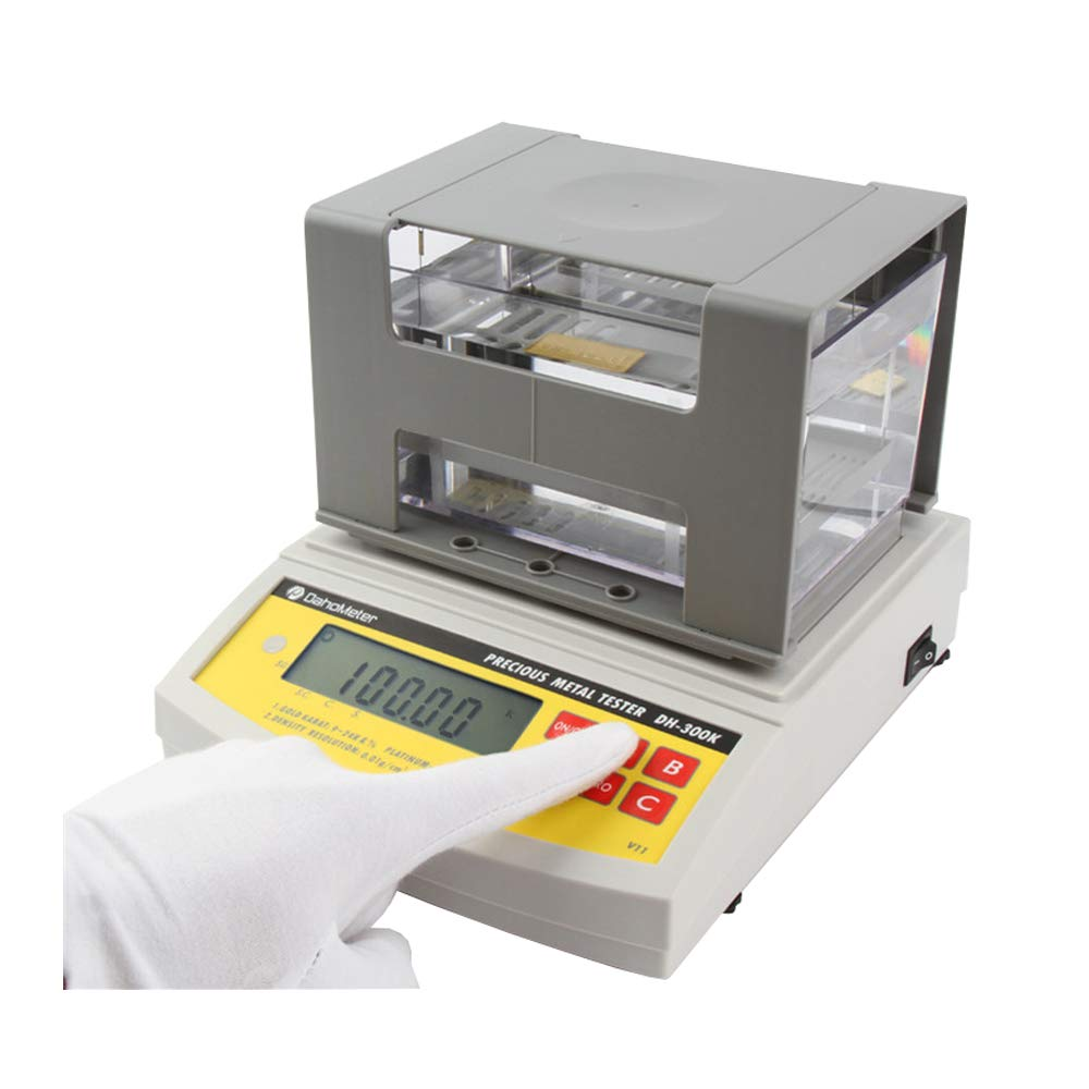 Amazon.com: MXBAOHENG Digital Electronic Gold Purity Tester Gold Densimeter Gold Purity Tester Metal Analyzer Karat Detector (DH-900K): Home & Kitchen