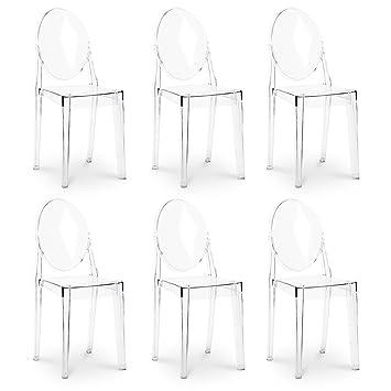La Sedia Di Design Stühle Victoria Ghost von Philippe Starck ...